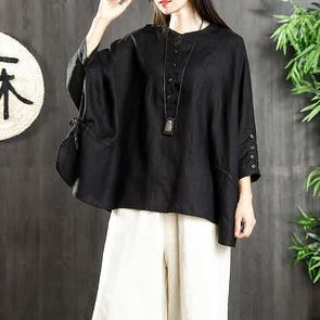 Long Sleeve Casual Cotton Women Blouse