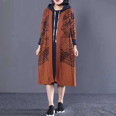 Loose Autumn Casual Knitting Cotton Cardigan