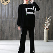 Loose Autumn Women Fashion Sportswear Suit