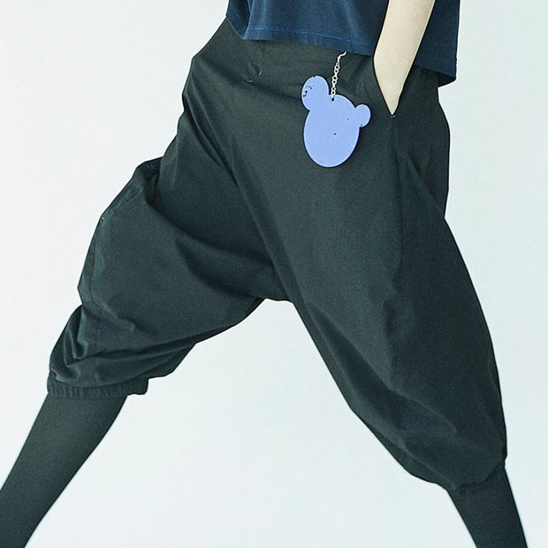 Loose Casual Drop Crotch Harem Pants