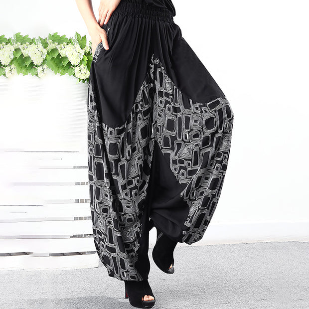 Loose Soft Comfortable High Waist Bloomers