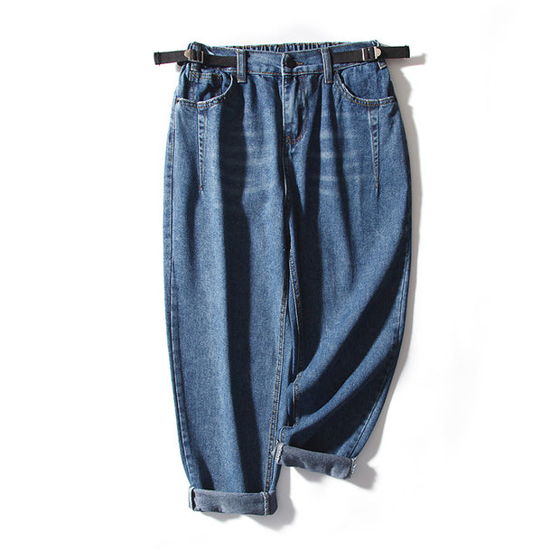 New Casual Loose Denim Turnip Pants