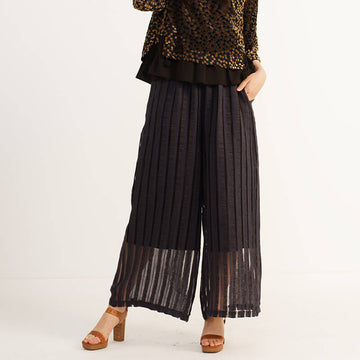 PLUS Size - Women Pure Color Wide Leg Pants