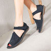 Peep Toe Flat Soft Bottom Casual Sandals