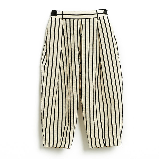 Plus Size Stripe Casual Harem Pants