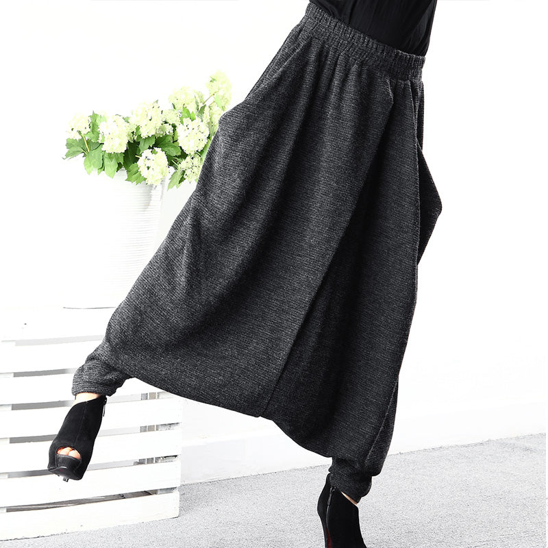 Plus Size Women Casual Solid Spring Ankle Length Pants