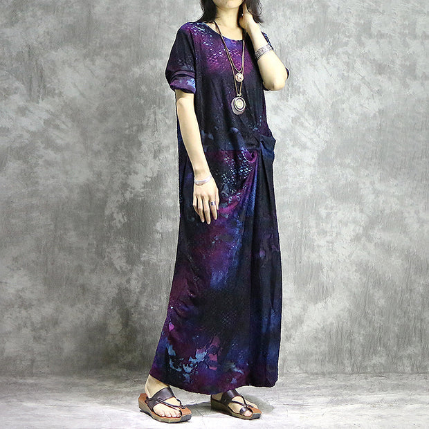 Polyester Designed Elegant Maxi Dress