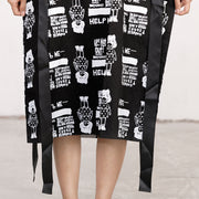 Printed Casual Lacing Comfortable Loose Fashion Dress