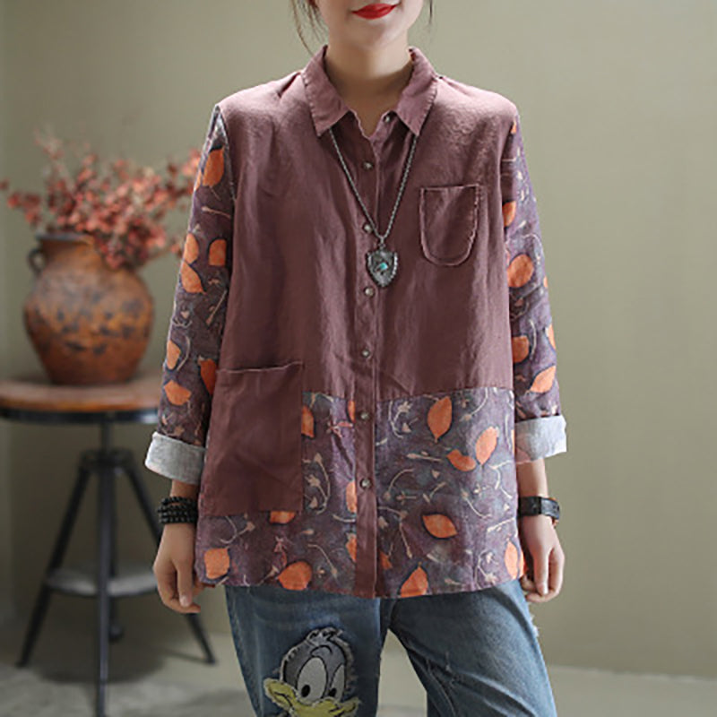 Printed Comfort Breathable Spring Shirt