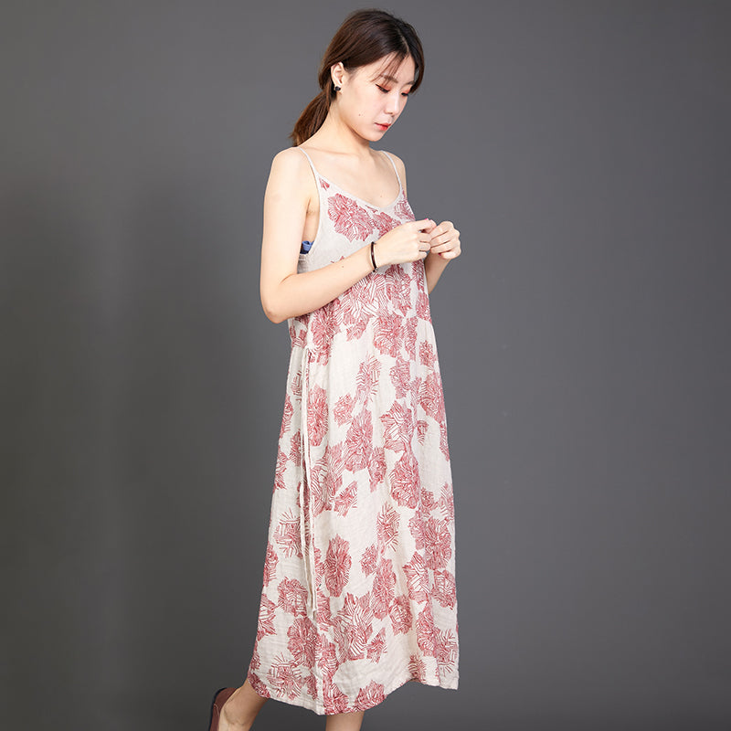 Printed Soft Comfortable Cool Slip Dress