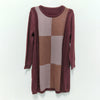 Women Casual Loose Pullover Sweater Dress