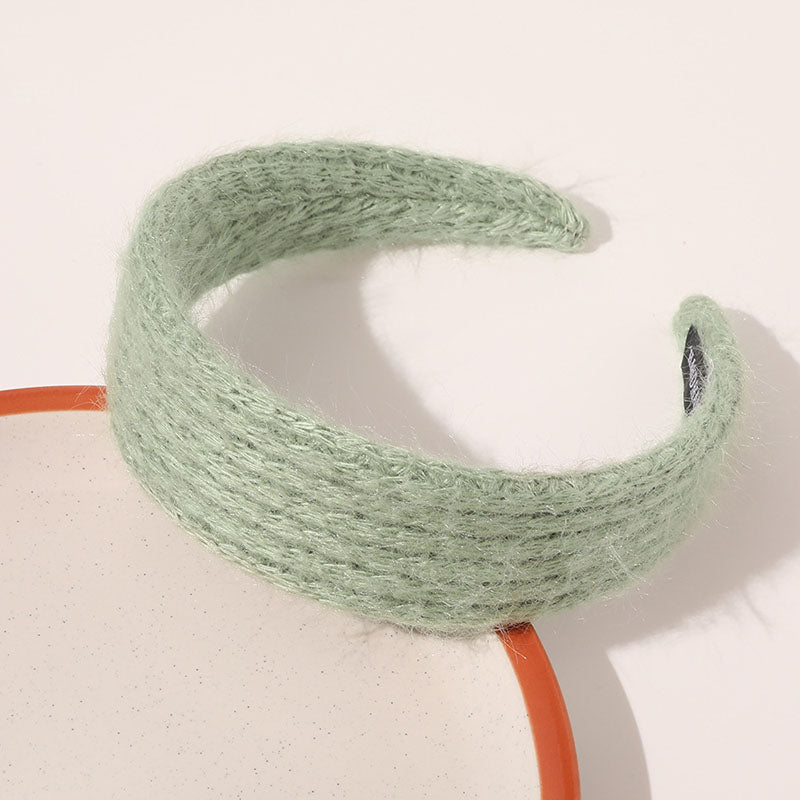 Retro Women Knitted Solid Color Hair Band(3 Pieces)