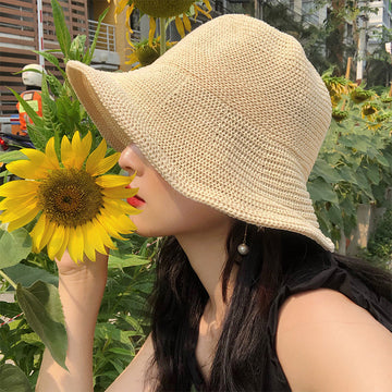 Spring Summer Travel Beach Woven Hat