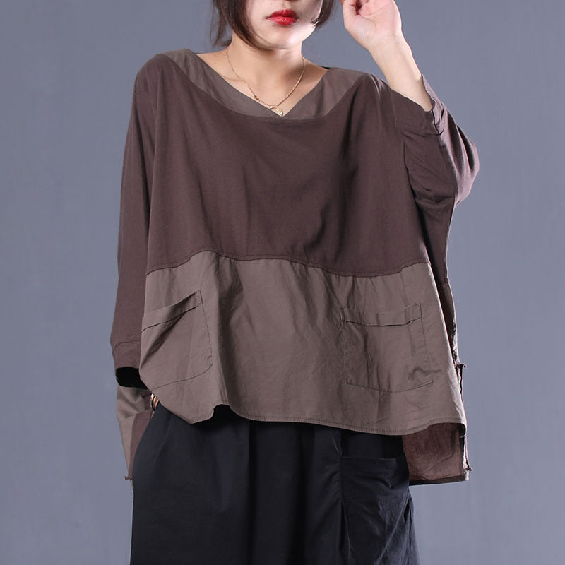 2a1d8fd1d0f Spring Loose Cotton Cause Comfortable Pullover T-Shirt