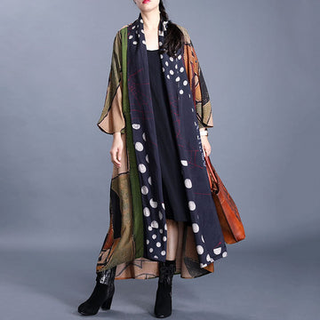 Spring Printed Sun-proof Coat