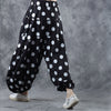 Spring Women Elastic Waist Cause Ankle Length Pants