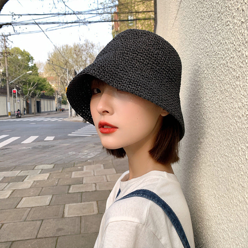 Summer Hand-woven Foldable Straw Hat