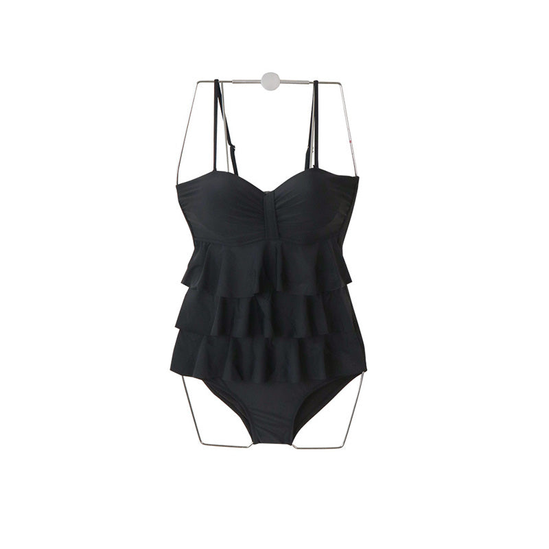 Summer Sexy Ruffle One-piece Swimsuit