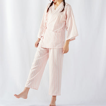 Summer Steamed Suit Female Cotton Pajamas Suit