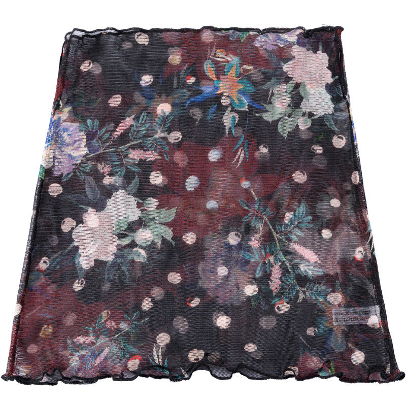 Summer Women Elegant Sunscreen Scarf