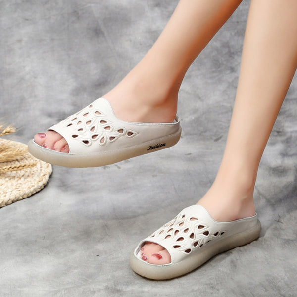 Summer Casual Women Hollow Slippers