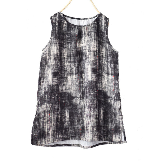 Summer Light And Breathable Printed Vest