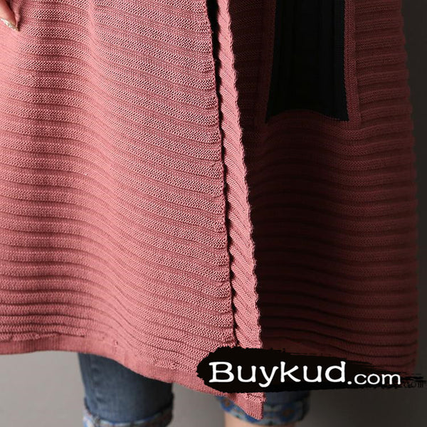 spell color sweater cardigan coat - Tkdress  - 8