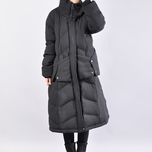 Keep Warm Long Sleeves Hoody Winter Women Coat - Buykud