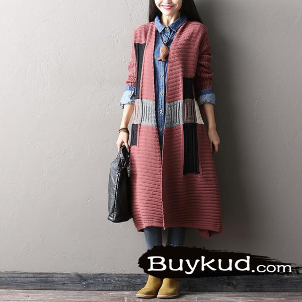 spell color sweater cardigan coat - Tkdress  - 4