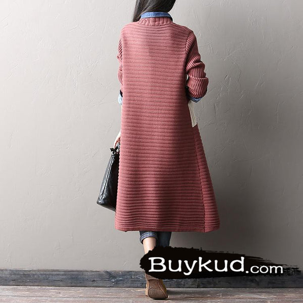 spell color sweater cardigan coat - Tkdress  - 5