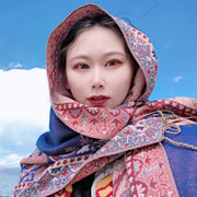 Travel Sunscreen Warm Scarf For Women