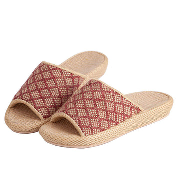 Unisex Fashion Geometric Casual Indoor Slippers