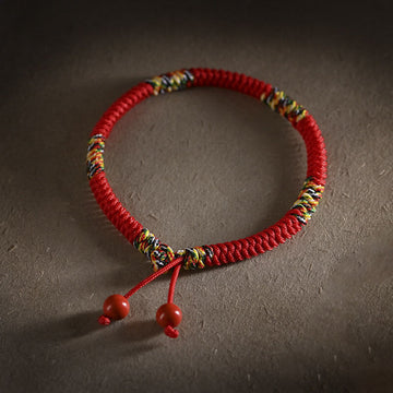Unisex Five-Color Knot Simple Bracelet