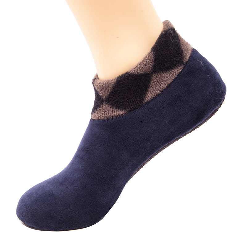 Unisex Indoor Thicken Coral Fleece Socks(2 Pairs)