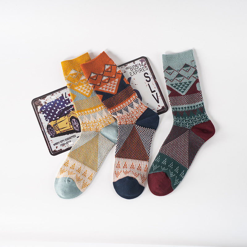Unisex Sport Cotton Socks(5 Pairs)