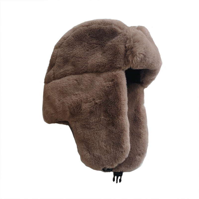 Unisex Thickened Ear Protection Warm Hat