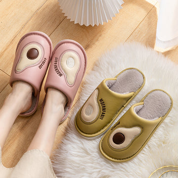 Unisex Winter Warm Waterproof Slippers