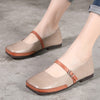 Vintage Flat Heel Hand Made Women Shoes
