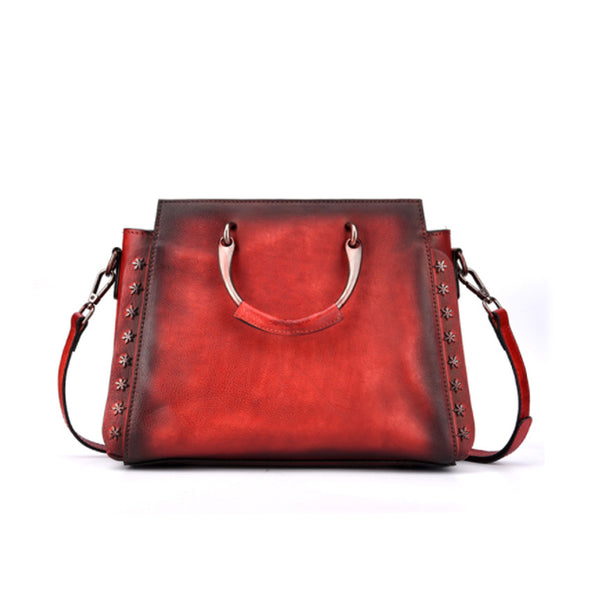 Vintage Handmade Handbag Square Shoulder Bag