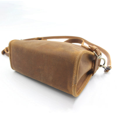 Vintage Women Zipper Messenger Bag