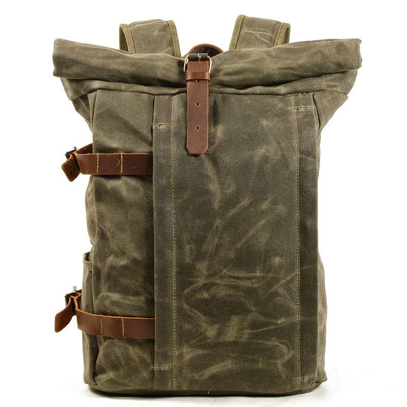 Waterproof Outdoor Canvas Travel Backpack