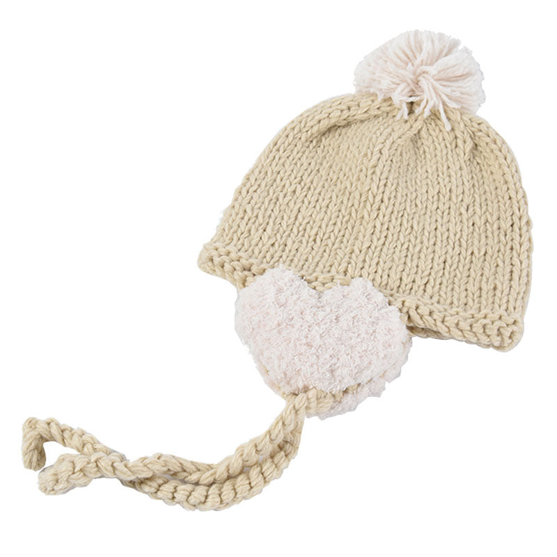 Winter Adjustable Rope Ear Protector Knitted Hat