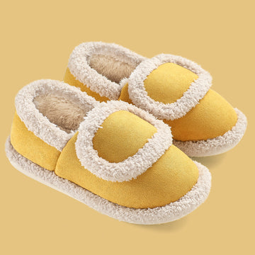 Winter Keep Warm Plush Indoor Slippers
