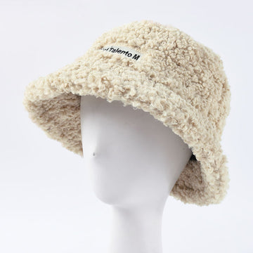 Winter Solid Color Wild Hat Wool Cap