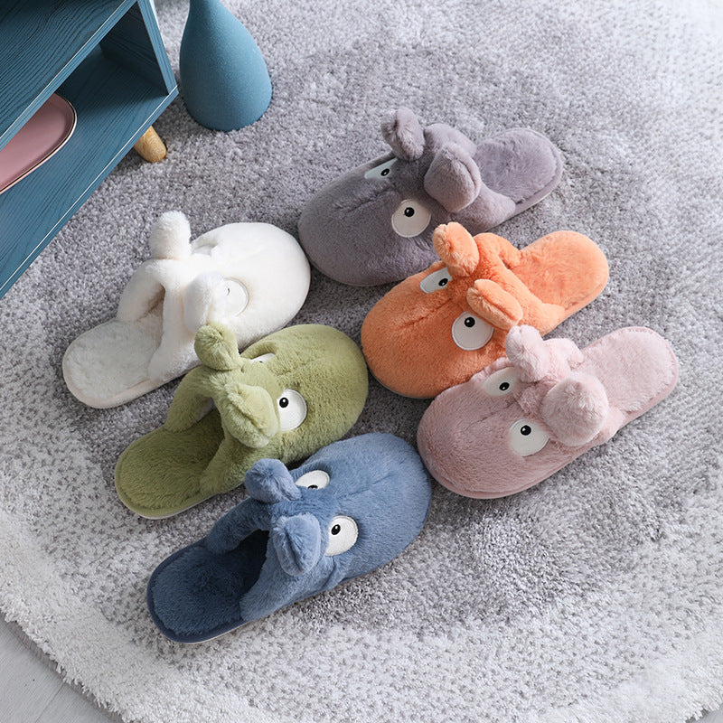 Winter Thick Warm Lovely Cartoon Slippers