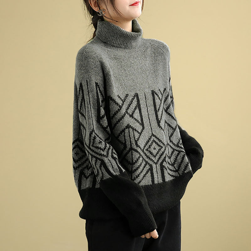 Winter Thicken Warm Turtleneck Sweater