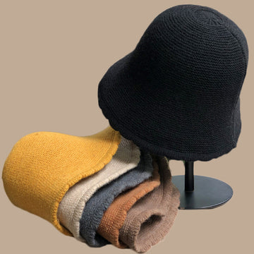 Winter Women Knitted Warm Wool Hat
