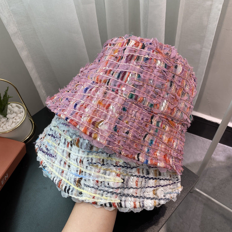 Winter Women Lace Stitching Lovely Hat