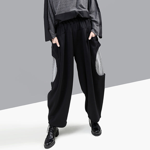 Winter New Spliced Loose Comfortable Casual Pants