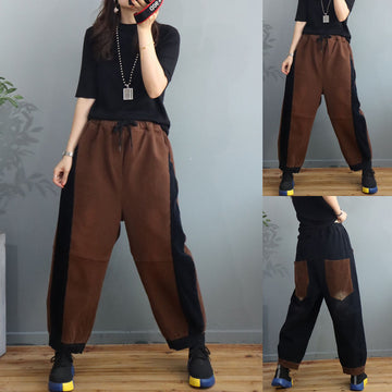 Drawstring Thicken Pants